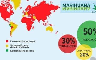 Estado actual de Cannabis en el mundo